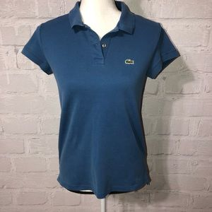 LaCoste Polo 👕 side bottom slits H24